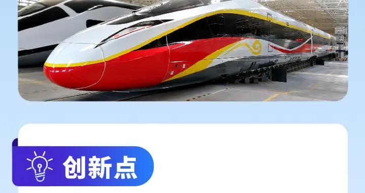 图解丨中国标准占90%!时速400公里跨国互联互通高速动车组在唐山下线