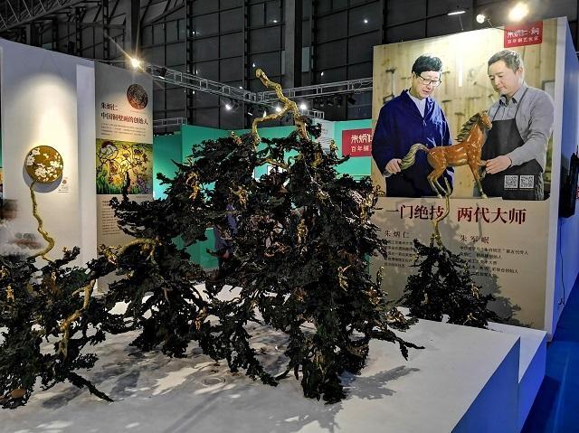 """传统、当代、潮流……2020""""一带一路""""艺术上海国际博览会开幕"""