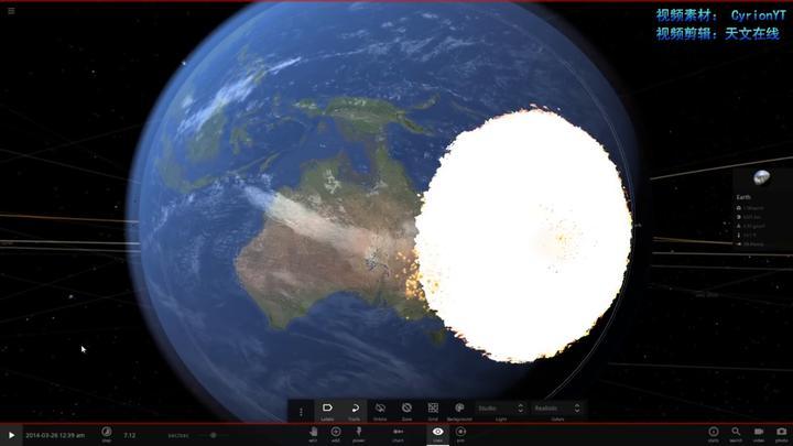 如果一颗直径6公里的小行星撞击地球,那会如何?