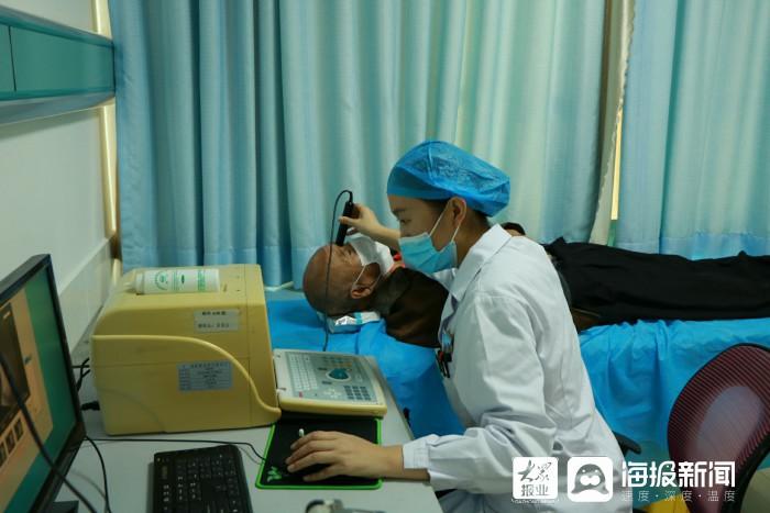 东营市第五人民医院陪患者一起告别黑暗 迎接光明