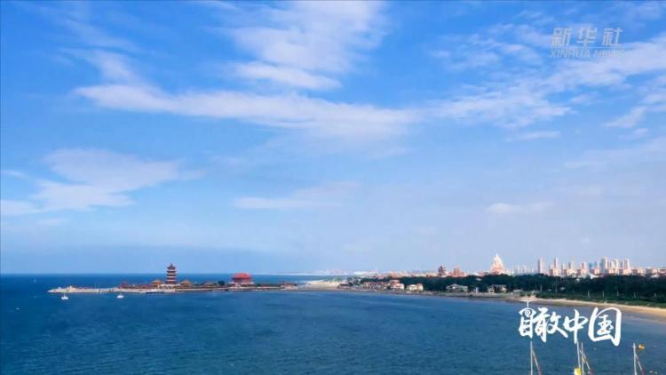 瞰中国丨蓬莱海景