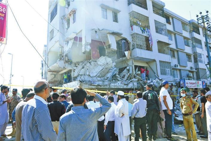 巴基斯坦卡拉奇发生爆炸