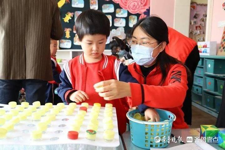 东营区实验幼儿园开展区域情境游戏展评活动