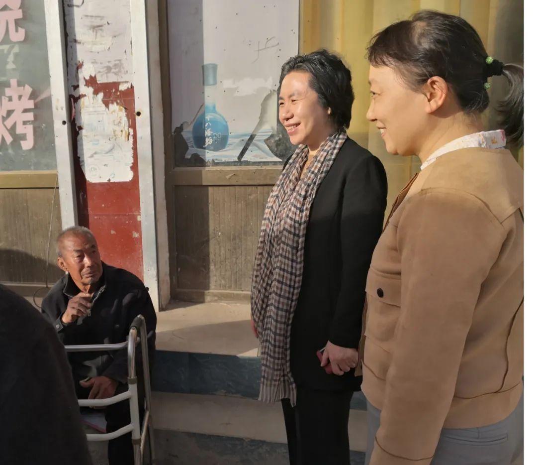 """市妇联到行唐县北城寨村开展""""走亲""""活动"""