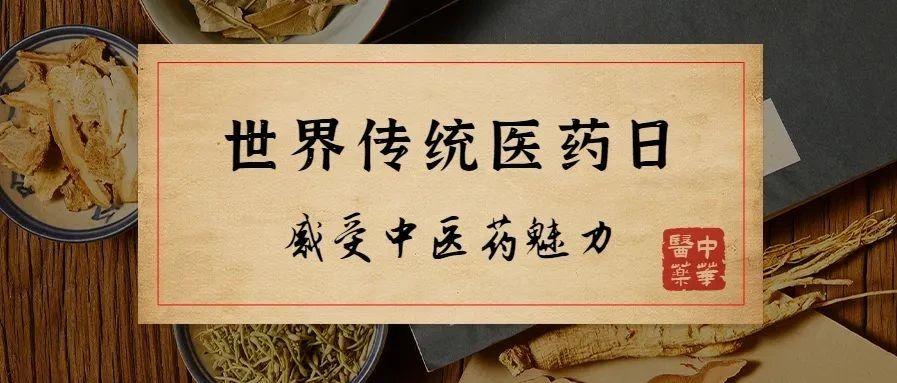世界传统医药日,感受中医药魅力!