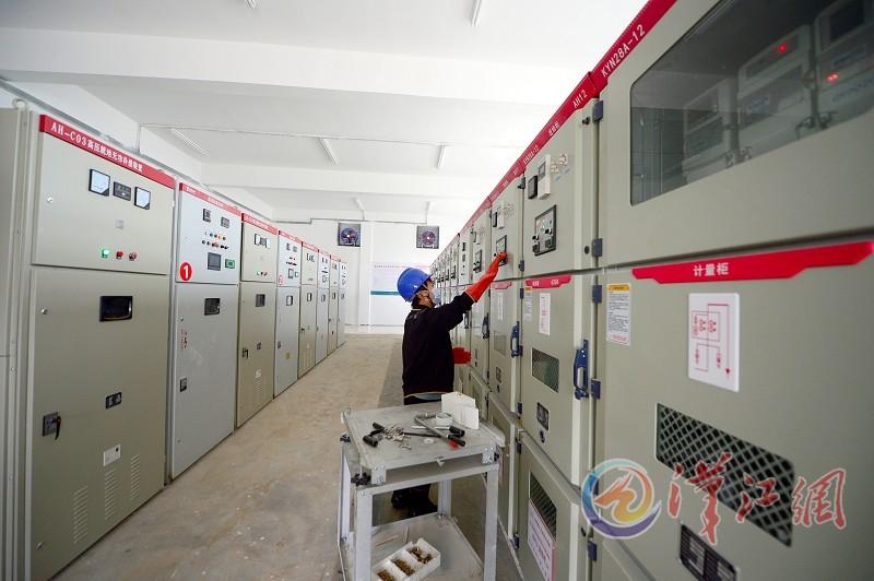 新岘山泵站月底完工