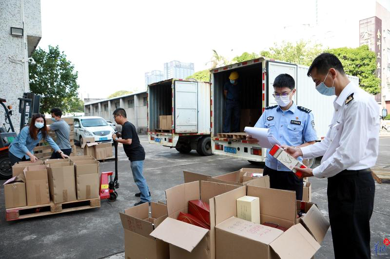 珠海:拱北海关集中销毁8203瓶涉案酒类