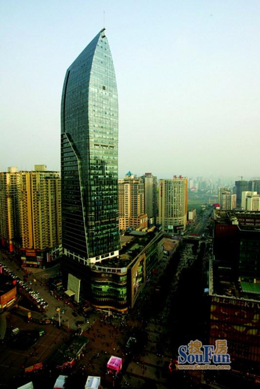 2020年10月重庆市观音桥商圈写字楼市场租赁情况