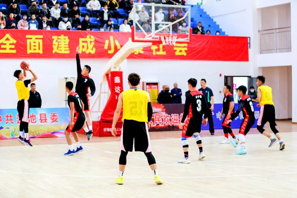 宁夏第三届农民篮球争霸赛在盐池县开赛
