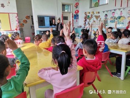 陈庄镇中心幼儿园:感恩重阳 让爱相伴