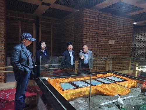 四川省文化和旅游厅副厅长杨健赴雅安茶厂调研景区建设