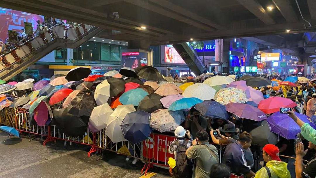 """当心!""""港独""""盯上泰国示威,一个反华暗影浮出水面图片"""