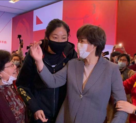 天津女排掌门李珊现身了!她最有可能成中国女排主教练郎平接班人