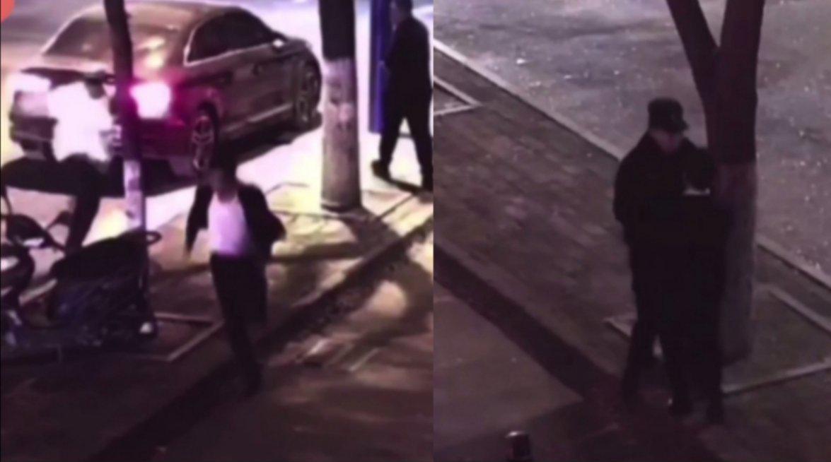 一男子酒驾遇交警 打算弃车逃跑 谁知下一秒投入特警怀里