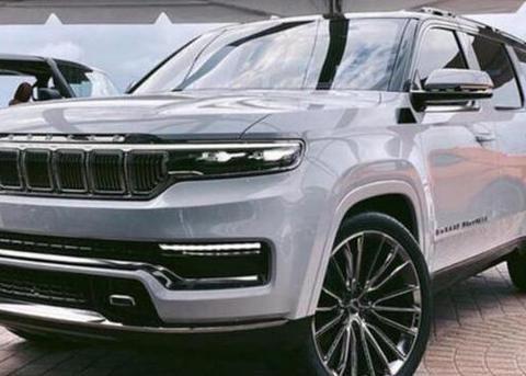 JEEP大瓦格尼海外实拍 新车有望推出插混车型