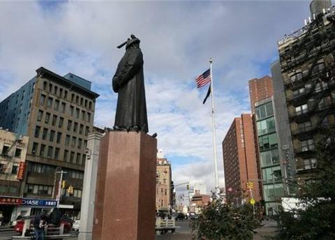 美国为什么要在寸土寸金的纽约,为林则徐铸铜像?
