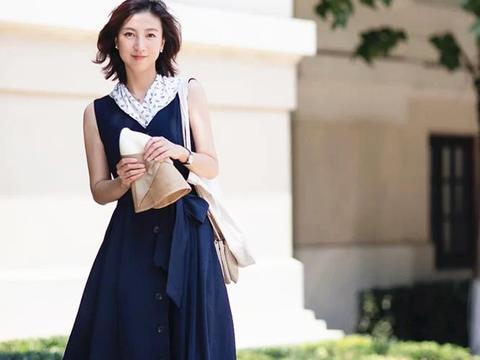 今日份温柔由日式休闲风给你,40+气质女人,你本来就很美
