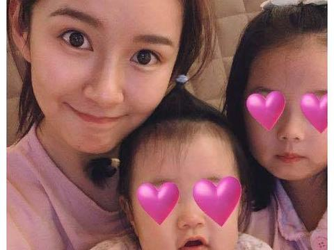 张子萱小女儿出生后几乎不哭,9个月开始吃虾,陈赫差点掉眼泪