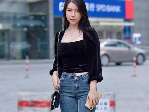 初秋必备单品牛仔裤,简单时尚又百搭,怎样穿都美!