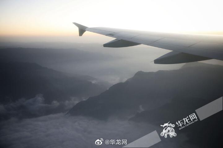 今天,重庆仙女山机场迎来重航真机实地验证试飞
