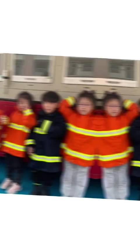 湖州 消防走进幼儿园开展消防演练活动