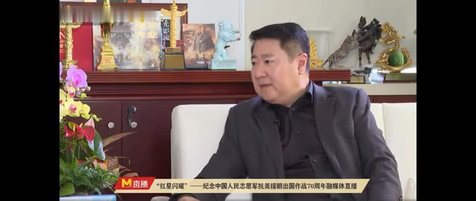 于冬透露《长津湖》强大主创阵容 陈凯歌徐克等导演参与创作