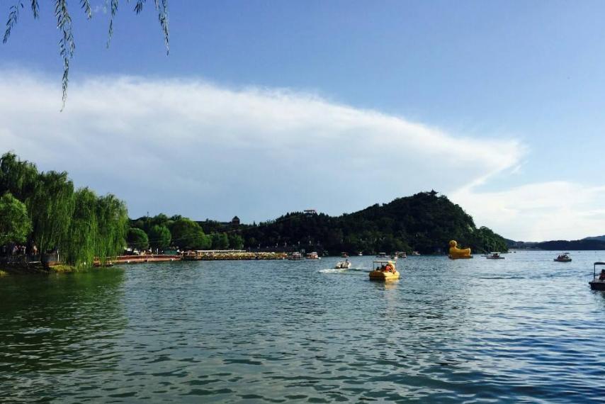 """北京""""大满贯""""景区走红,被称怀柔""""小西湖"""",门票45媲美欢乐谷"""
