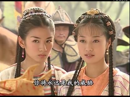 黄奕和蒋勤勤合作四次,朝代设定都是清朝,还曾分饰婉容和文秀