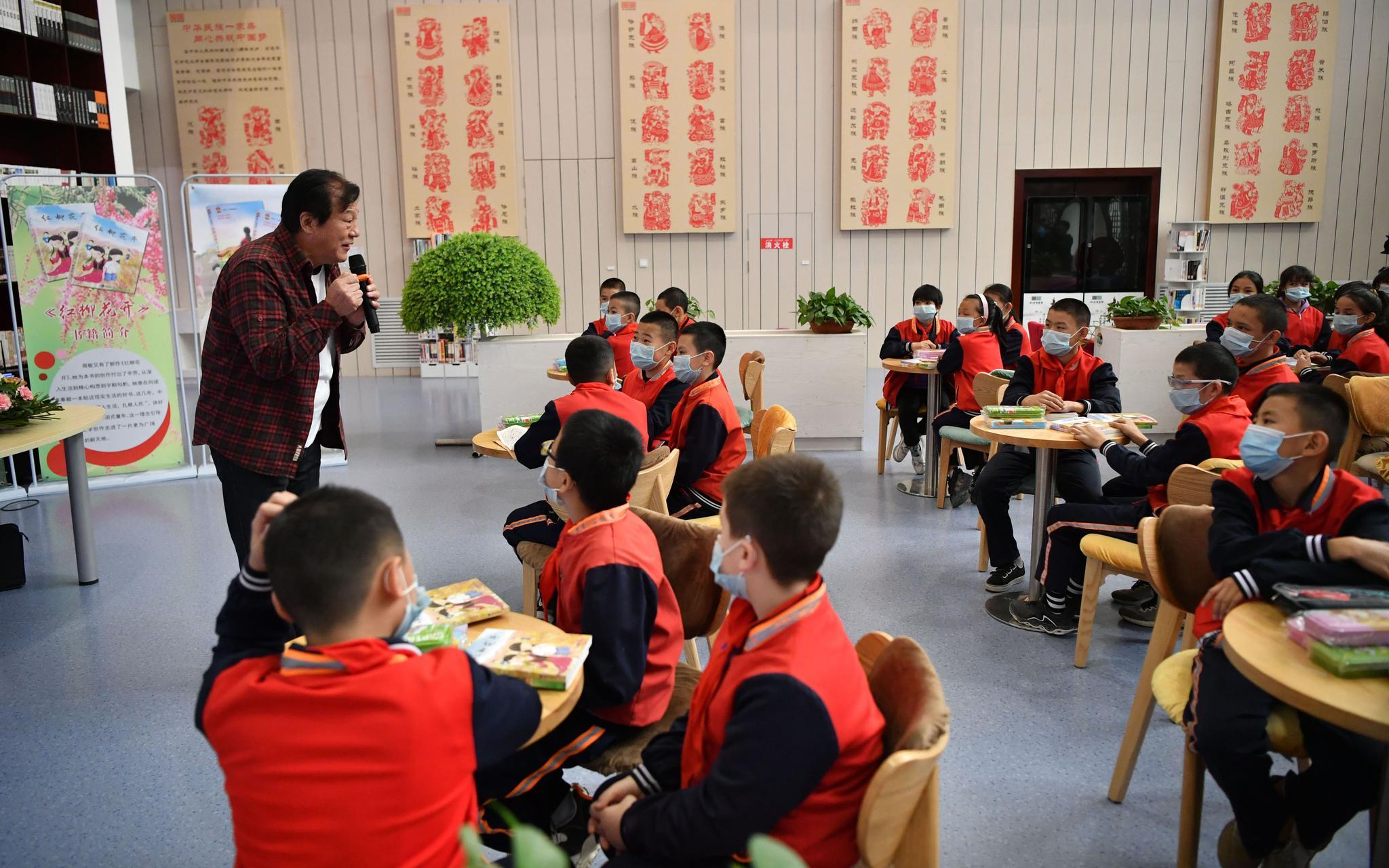 读者见面会、下乡文化演出…北京援疆多举措推进文化润疆图片