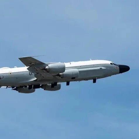 美空军证实美军侦察机从台湾上空飞过 美媒:极不寻常