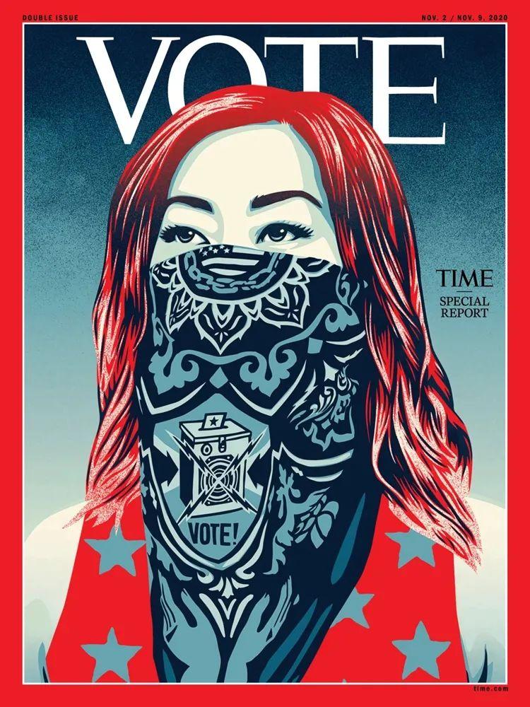 """""""有史以来第一次"""",""""TIME""""→""""VOTE""""图片"""