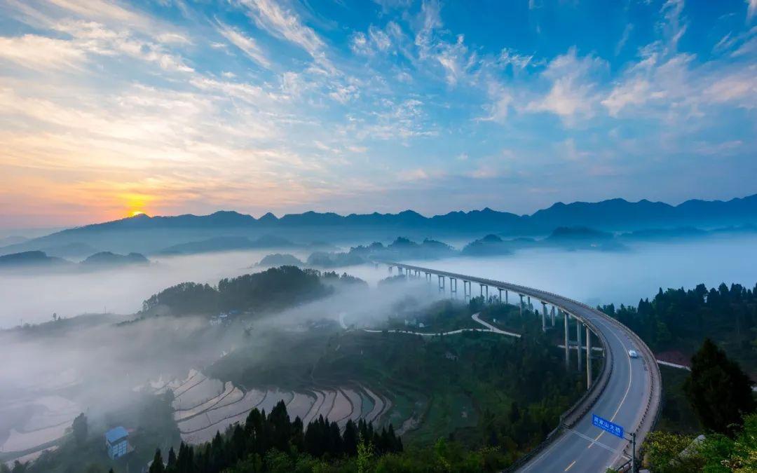 周家山大桥渝北区委网信办供图