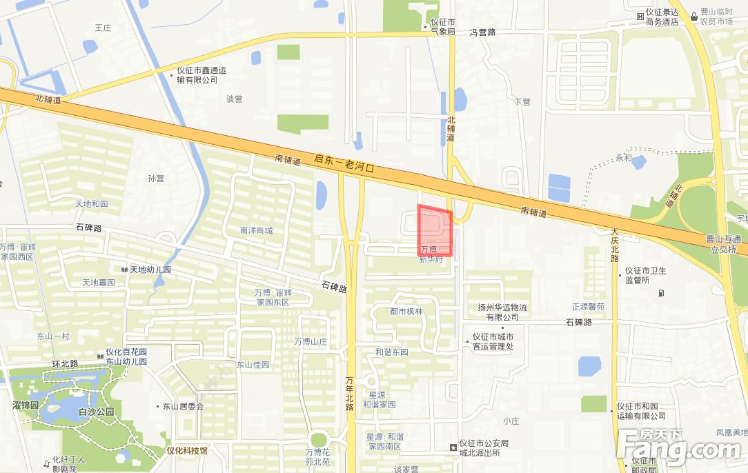 土拍快讯:江苏天地房地产开发有限公司摘得仪征2幅地块