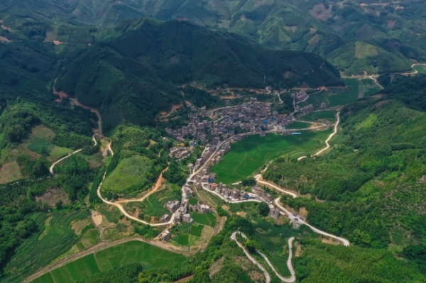 有一个美丽的村庄