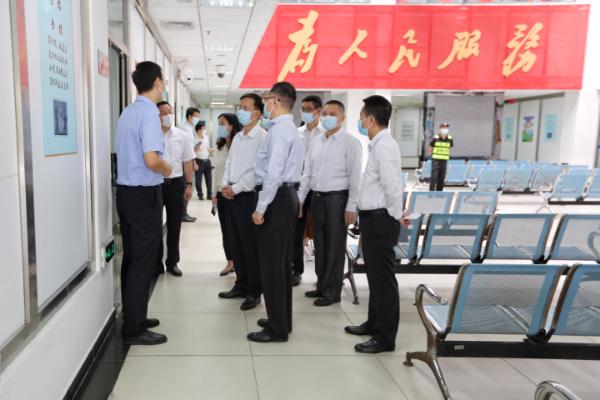 佛山市信访局同行到深圳开展信访工作经验交流活动
