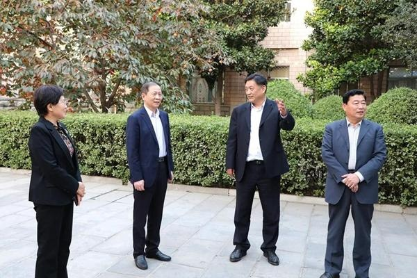 省人大社会建设委员会副主任委员王兆玉来聊调研退役军人服务保障工作