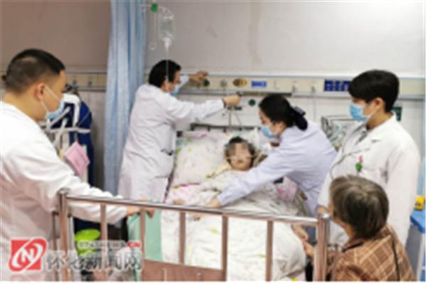 守护你,到天明——怀化市第一人民医院抢救重症患儿