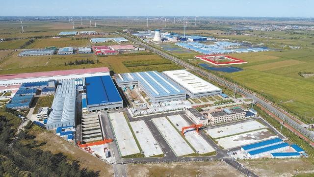 中交京津冀装配式产业基地投产 首个项目服务北京东六环改造工程图片