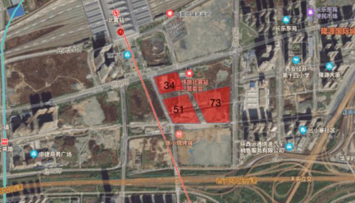 绿地在高铁新城拍得三宗土地,规划为超高层 最低楼面价1706元/平米