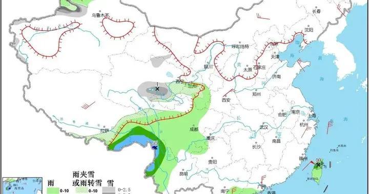 @渭南人,下周我省有一次大风降温、降水天气过程