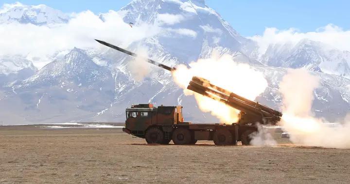 PHL-03配备新型远程火箭弹,射程160千米,部署对印一线