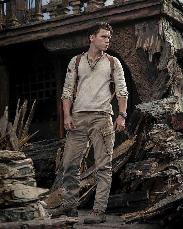 电影《神秘海域》公布新剧照,荷兰弟角色造型首度曝光图片
