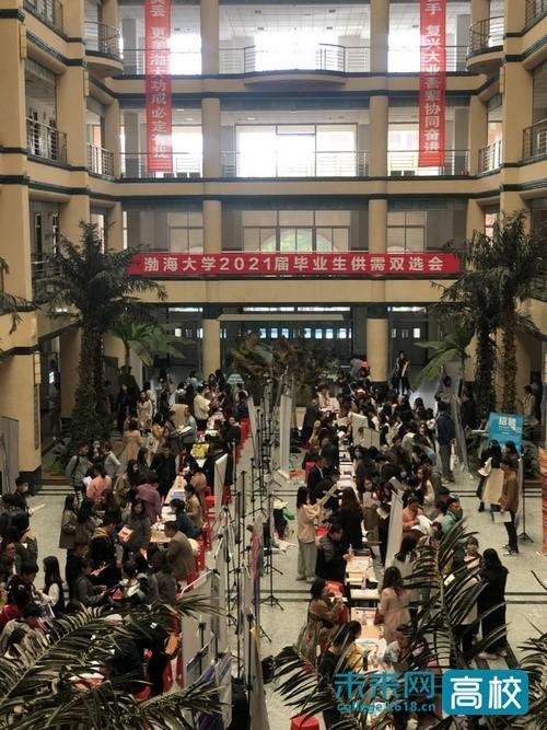 渤海大学举办2021届毕业生教育类专场供需双选会