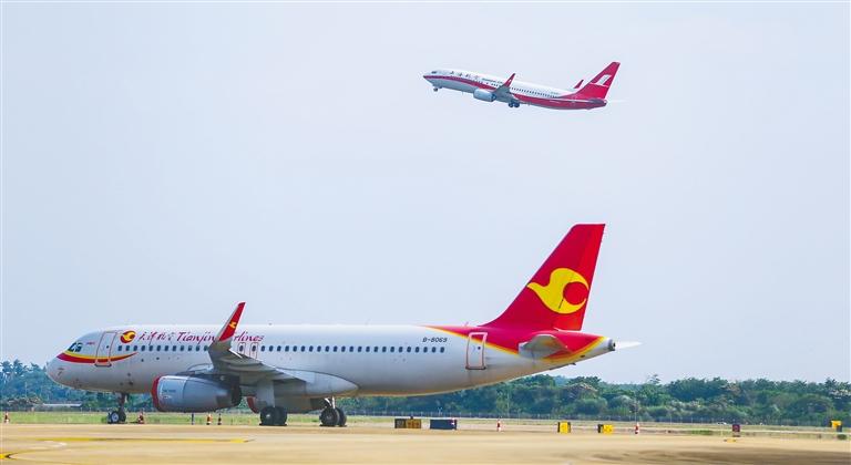 海南将迎航空客流旺季-新华网海南频道