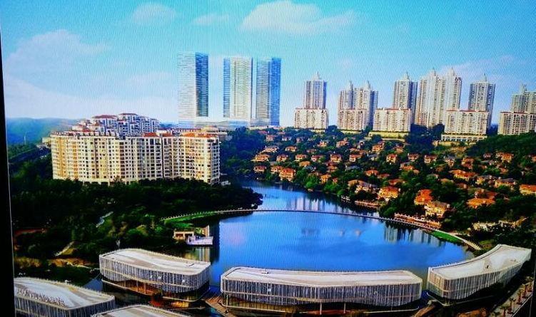 2020年10月重庆市人和商圈写字楼市场租赁情况