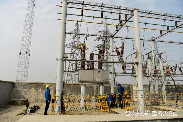 国网宁阳县供电公司:与企业联动检修获称赞