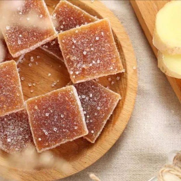 潮汕丨古法姜汁软糖,秋天吃是最好的。