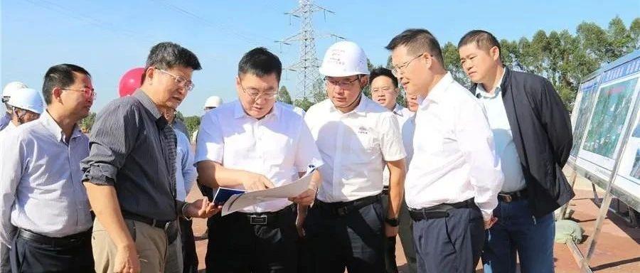 李延强调研防东铁路项目