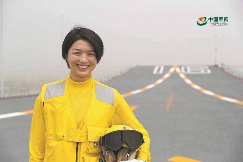 """辽宁舰女士官长张明珠:""""世界上最危险的4.5英亩""""是她孕育梦想的沃土"""