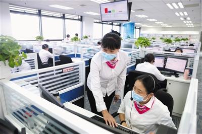 企业热线满一年 接听来电5万余个
